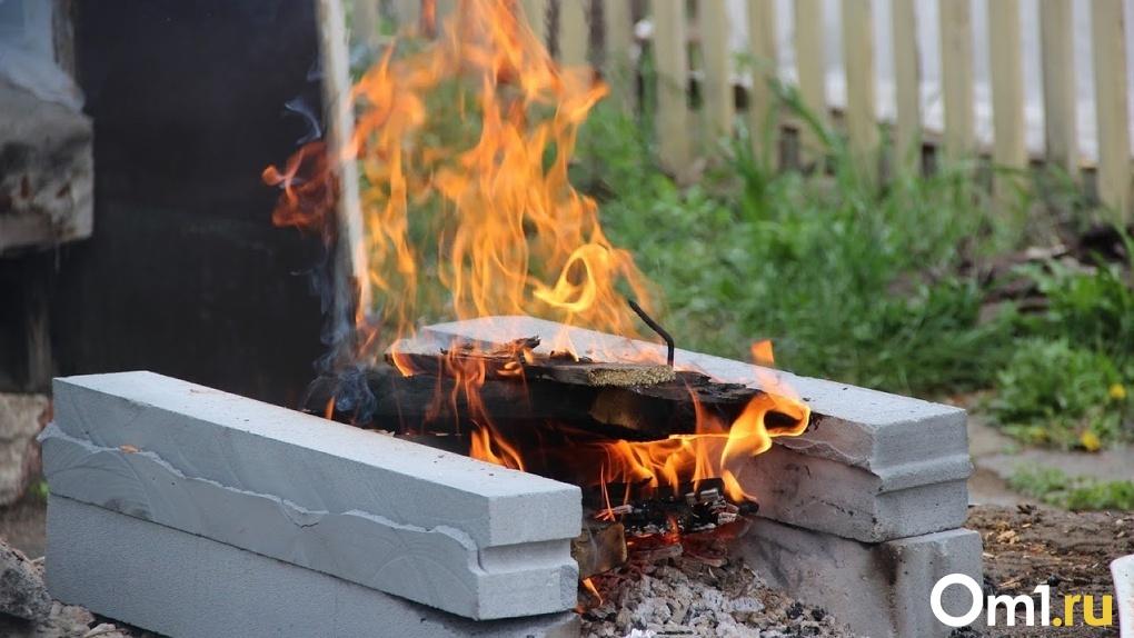 Омич сломал позвоночник соседу и едва не сжёг его заживо в костре