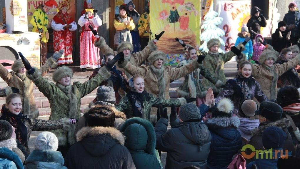 Омская «Масленица на Любинском» начнется с танцевального флешмоба