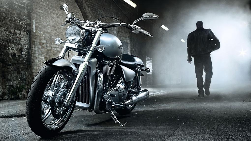 В Омске сделали выделенную дорожную полосу для мотоциклов - ФОТО