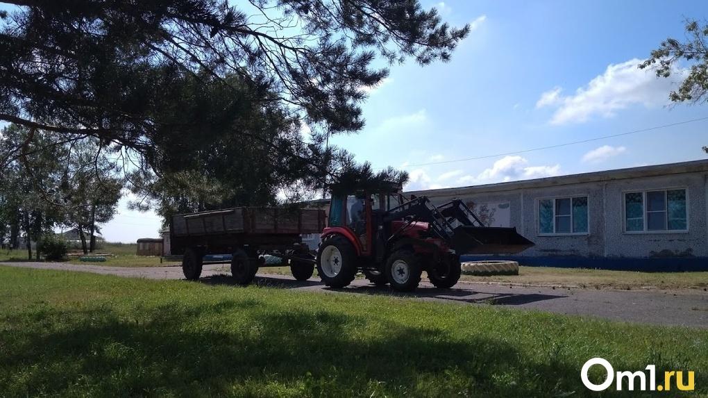 Омич увёз 14 тонн щебня с участка ремонта дороги, надеясь, что это будет незаметно
