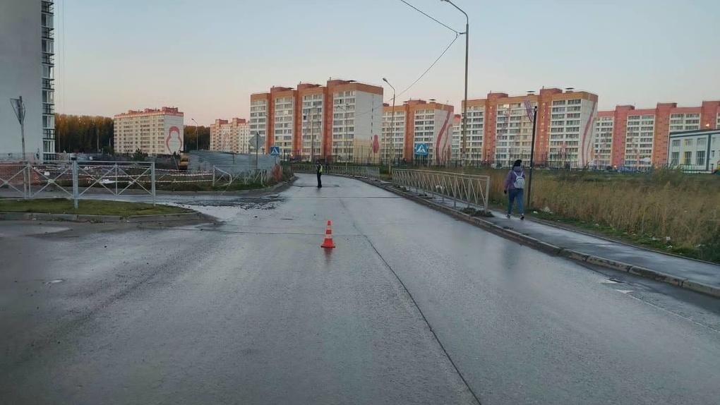 В Новосибирске автомобилист сбил человека и скрылся с места происшествия