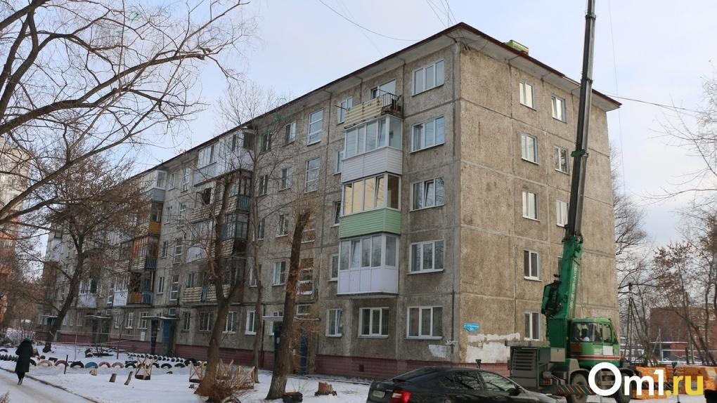 В Омске отремонтировали дома, пострадавшие от урагана