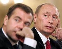 Медведев заработал больше Путина в 2012 году