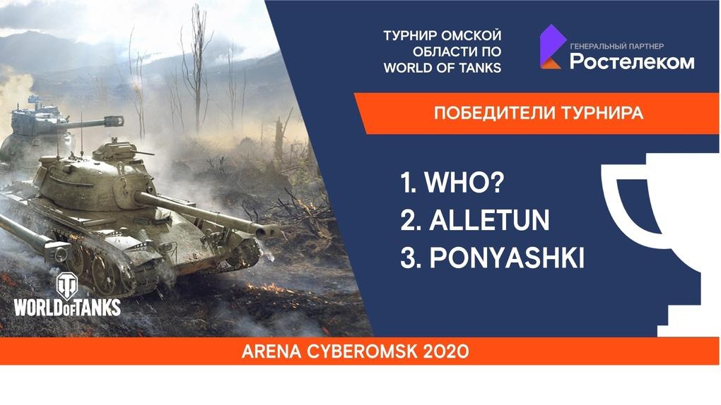 «Ростелеком» провел третий кубок Омской области по World of Tanks