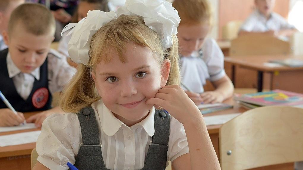 Новосибирцы выстроились в опасные очереди за школьной формой