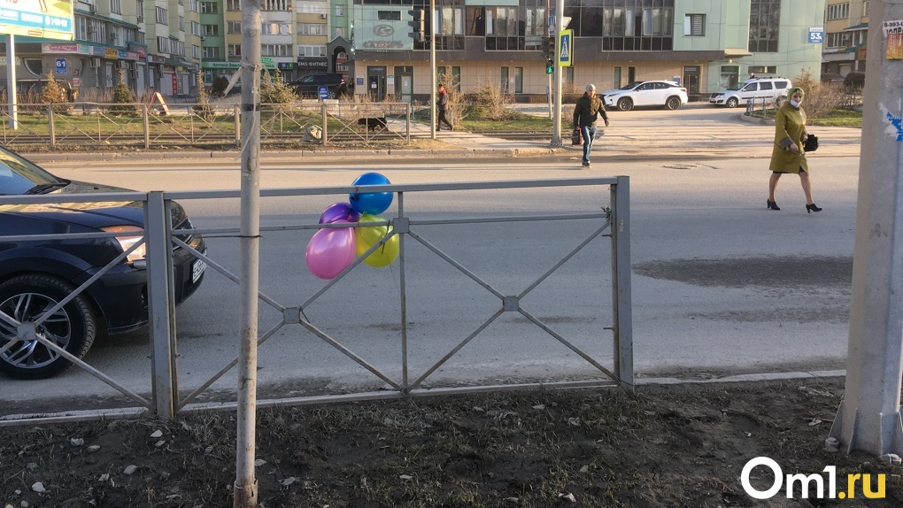 Самая знаменитая дорожная яма Новосибирска отметила день рождения