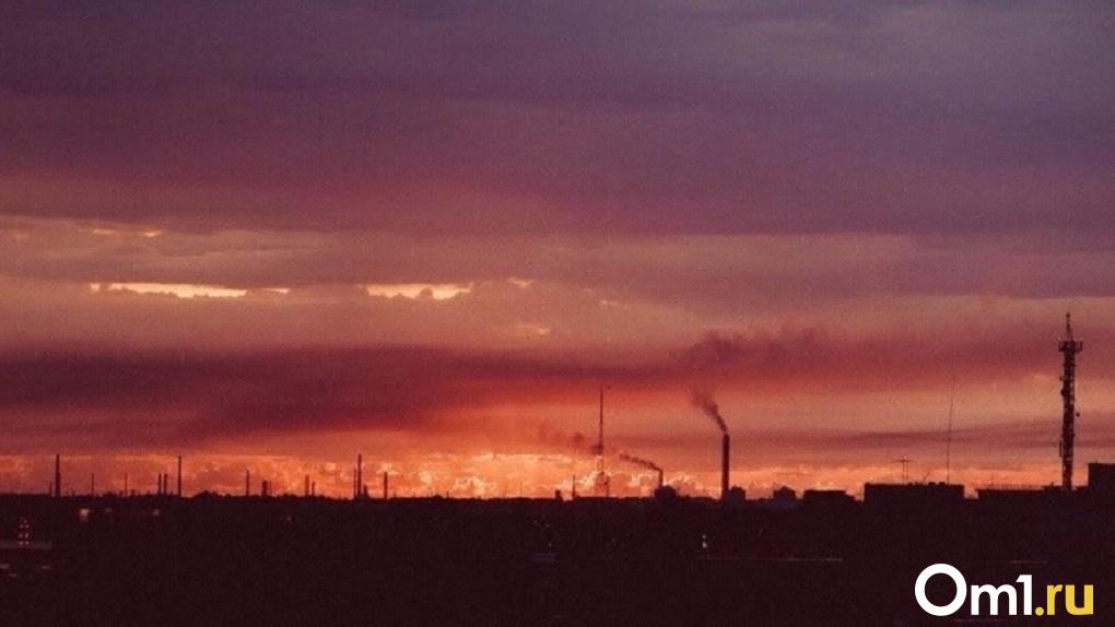 В Омске произошёл сильный выброс этилбензола — норма превышена в 4,5 раза