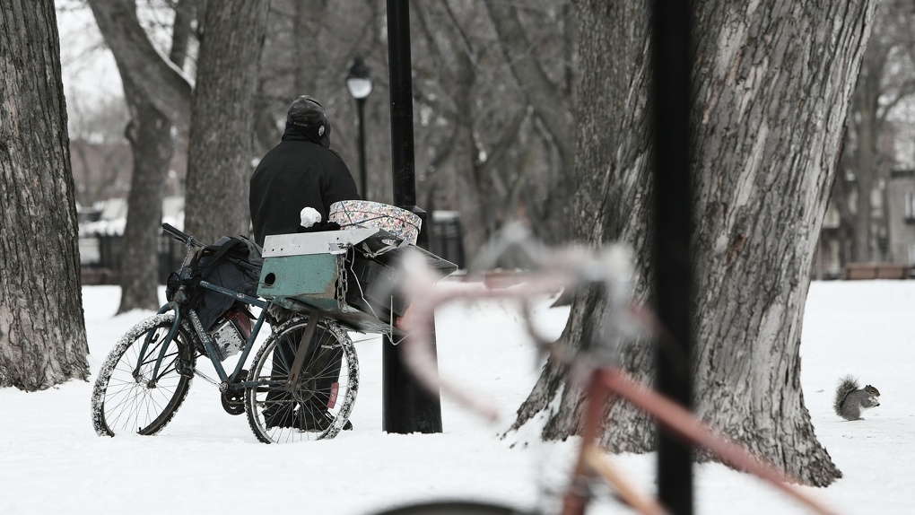 В Омске январский велосипедист оказался рецидивистом в розыске