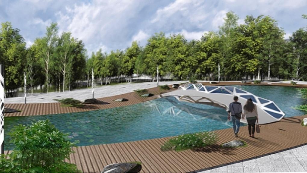 В Новосибирске пойму реки Каменки превратят в зону отдыха