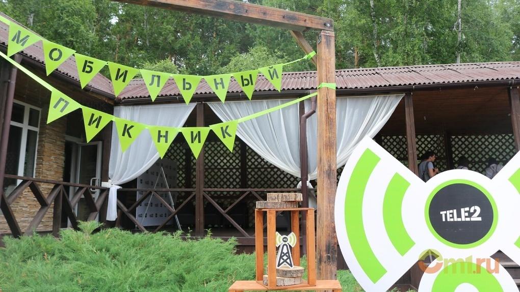 Омичам в лесу продемонстрировали мощь интернета 4G