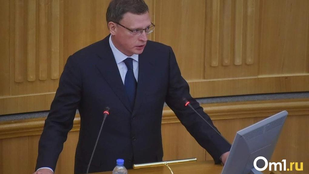 Глава Омской области вошел в число лидеров рейтинга губернаторов