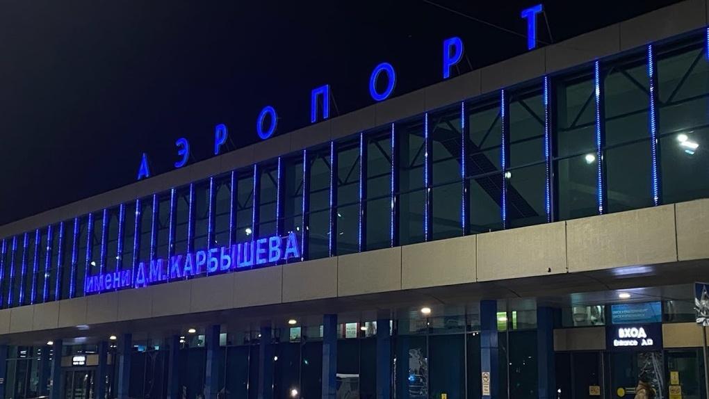 Омский аэропорт потратил на автобус для пассажиров более 20 млн рублей