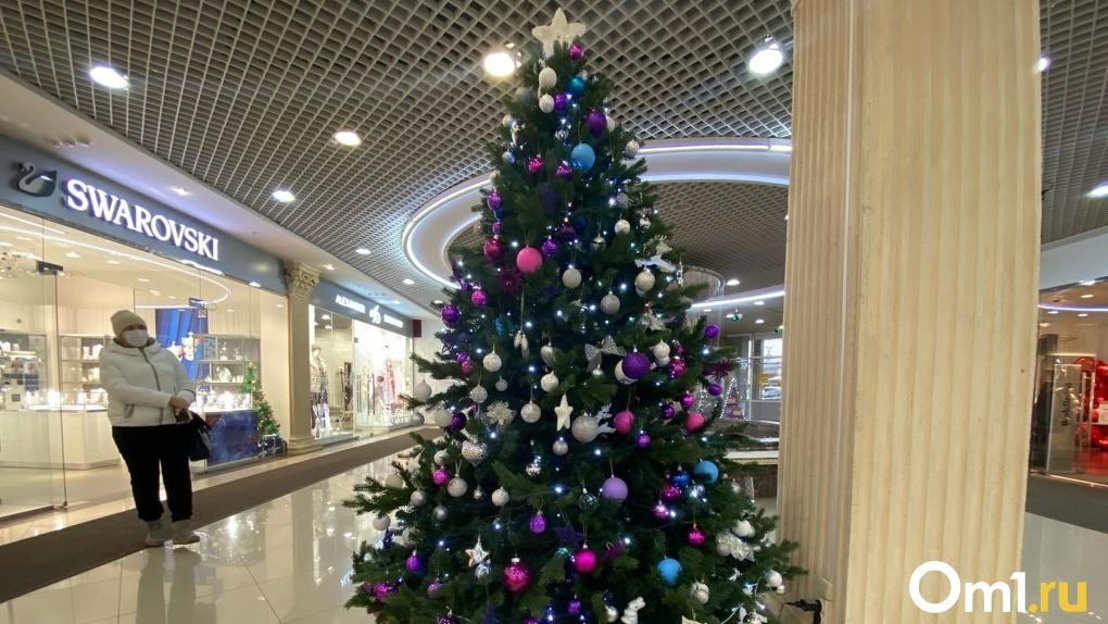 На Левобережье Омска определили места, где будут продавать новогодние ёлки. Адреса
