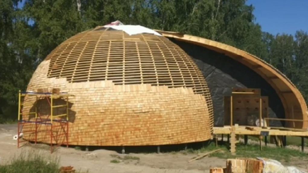 В Новосибирске появился необычный музыкальный дом