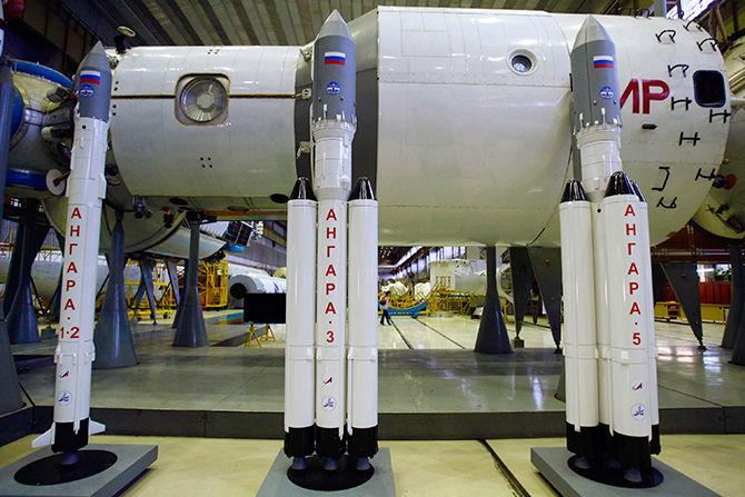 Финальная сборка космической ракеты «Ангара» будет проходить в Омске