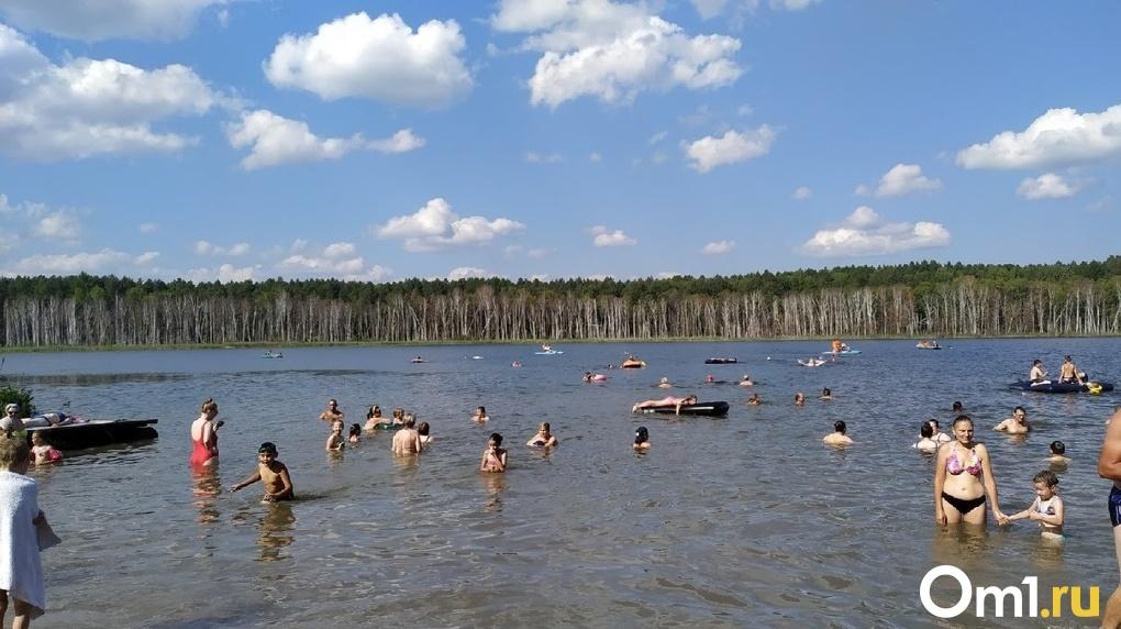 В Омской области подходит к концу пляжный сезон