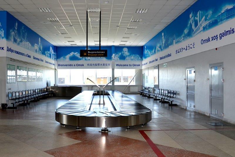 В аэропорту фразу «Добро пожаловать в Омск» написали на 21 языке мира