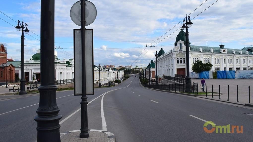 Омские дороги могут остаться без разметки