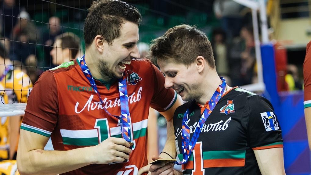 Новосибирская волейбольная команда «Локомотив» впервые признана чемпионом России