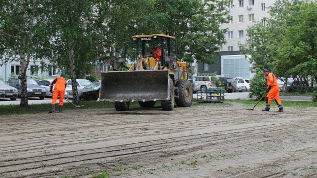 В Новосибирске отремонтировали 120 дворов