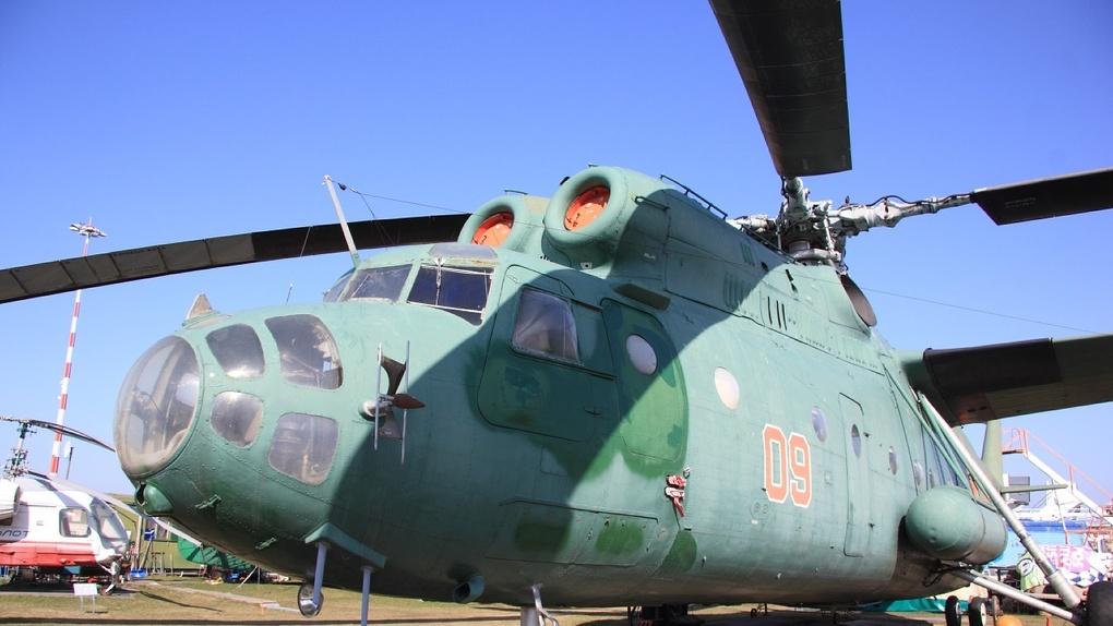 9 Мая над Новосибирском поднимутся 10 военных вертолетов и самолетов