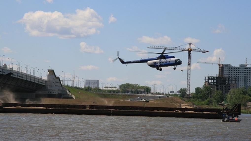 В омском речпорту «спасали» экипаж судна от «террористов»