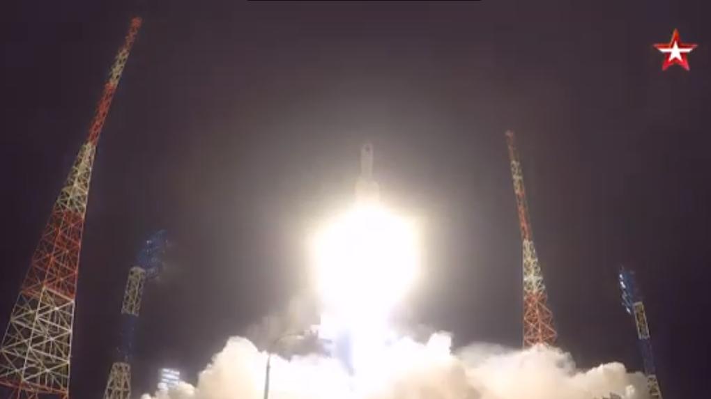 Появилось видео запуска ракеты «Ангара-А5», в создании которой принимало участие омское ПО «Полёт»