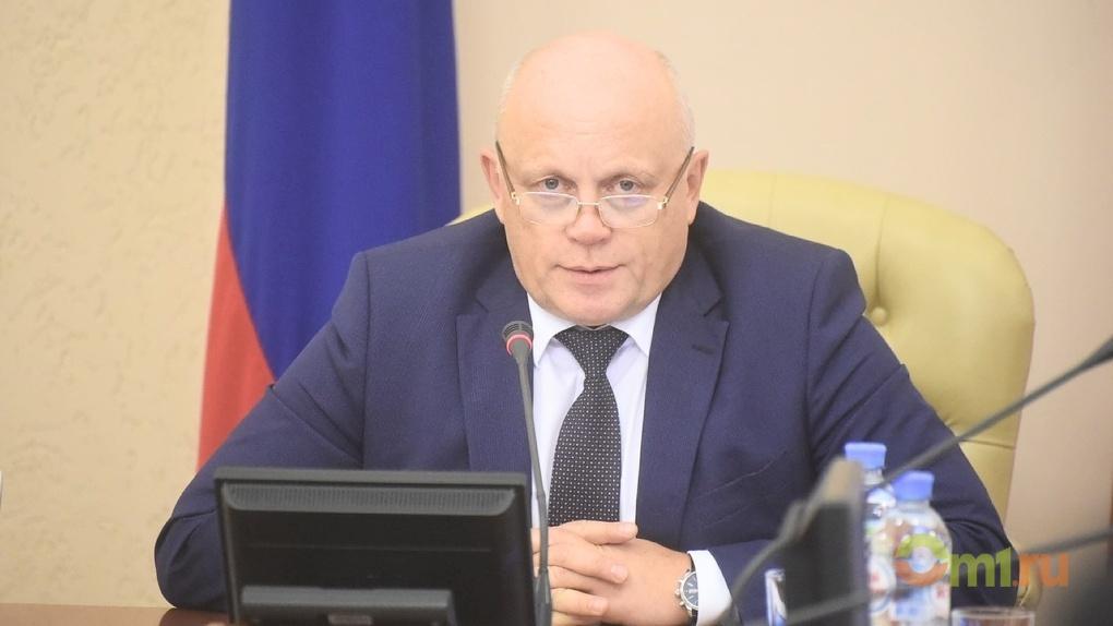 Экс-губернатор Омской области заработал за 2017 год более 7 миллионов рублей