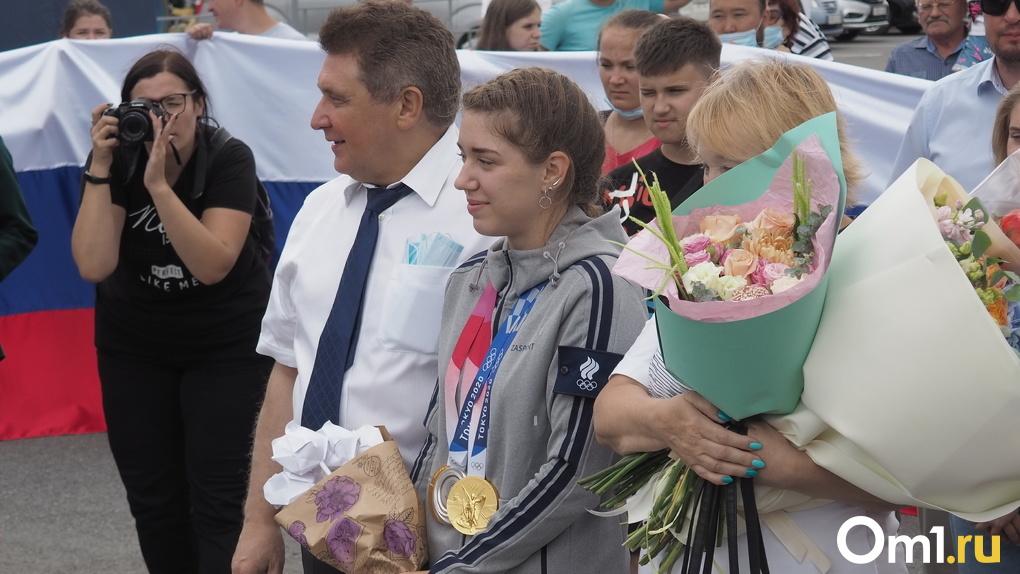 Омичка Виталина Бацарашкина стала лидером Олимпийской сборной России по числу медалей