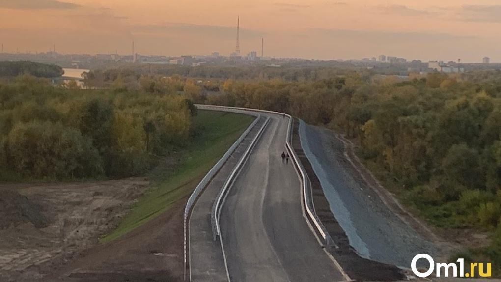Омичи уже через две недели смогут прокатиться по новой дороге «за миллиард»