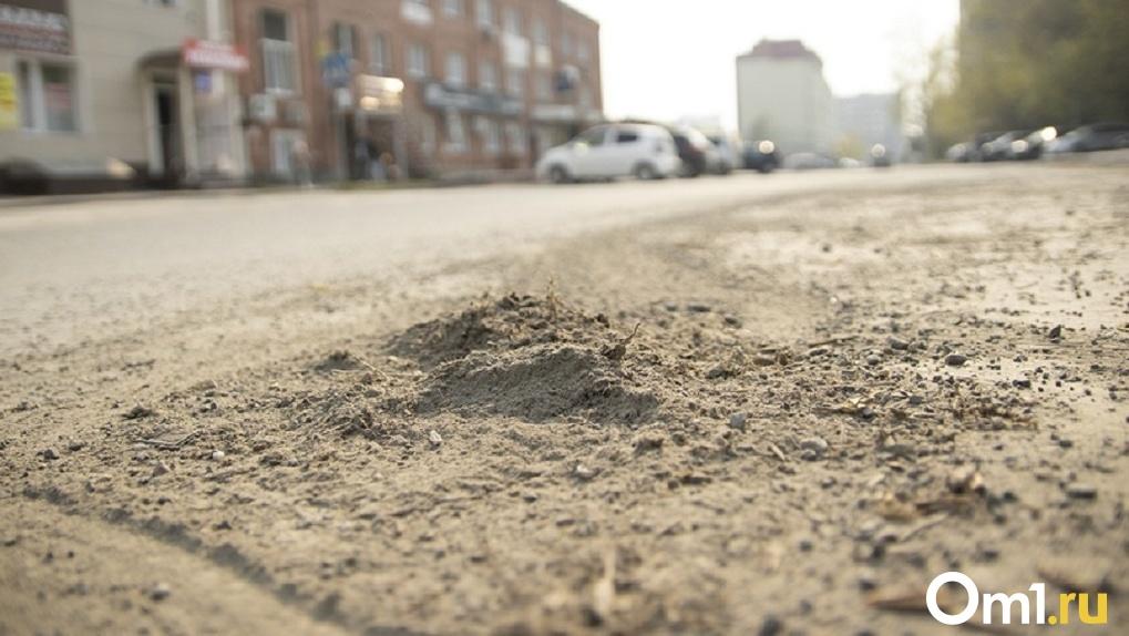 Революционные меры. Власти Новосибирска испытывают инновационный метод борьбы с пылью на дорогах