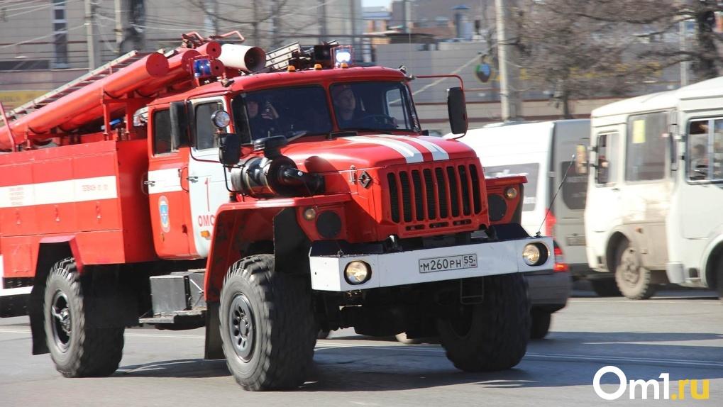 В омском торговом центре эвакуировали людей