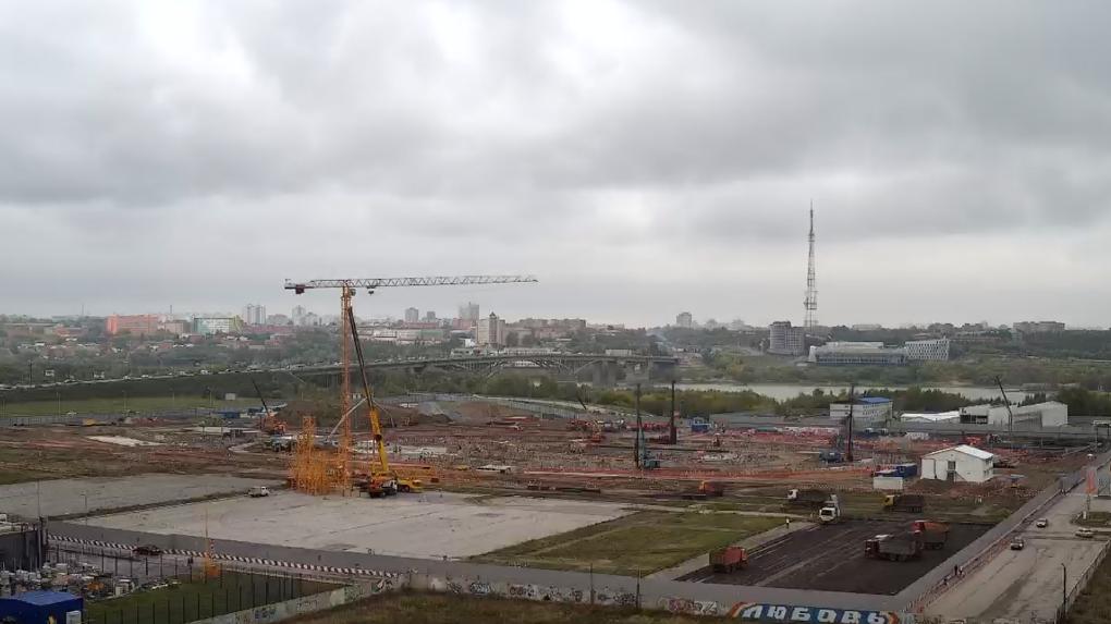 На 100% будет готов принять МЧМ-2023. Владислав Третьяк рассказал о ходе строительства «Арены Омск»