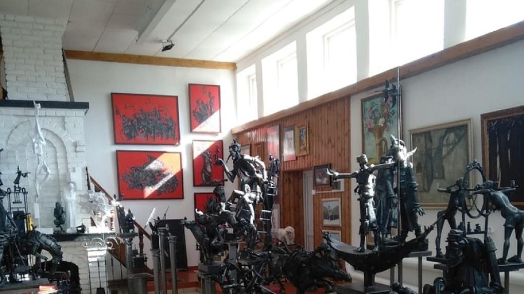 Единственная в мире галерея сварной скульптуры откроется в ста километрах от Омска