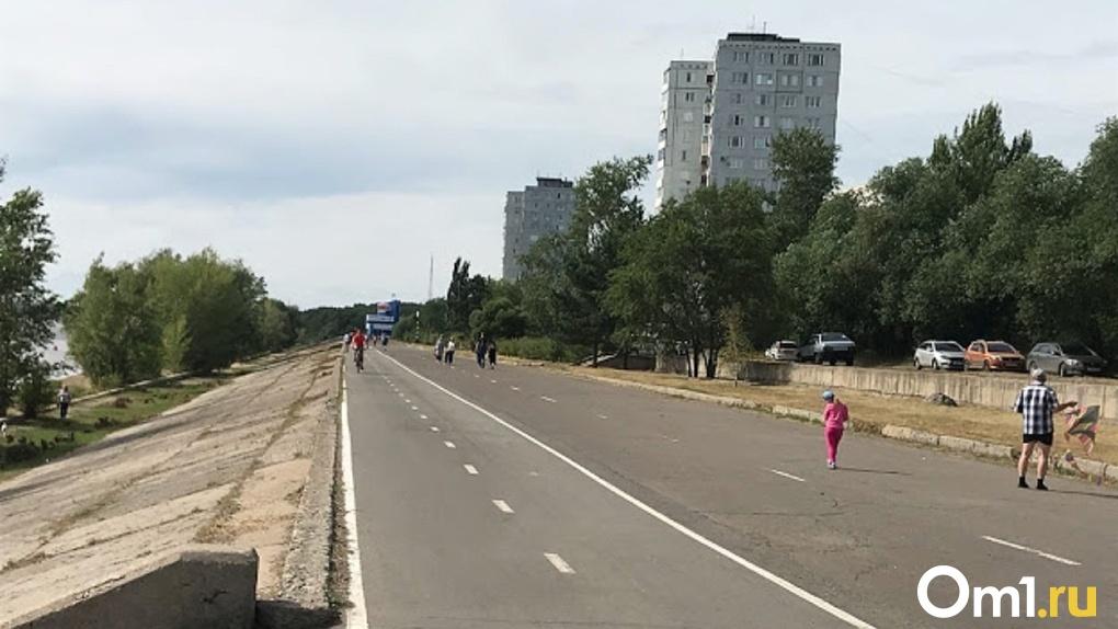 Создание 15-километровой набережной в Омске начнётся с «Зеленого острова»