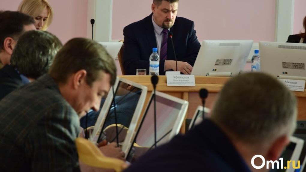 «Чтобы услышали». На заседании комитета омского Горсовета депутату предложили залезть на берёзу