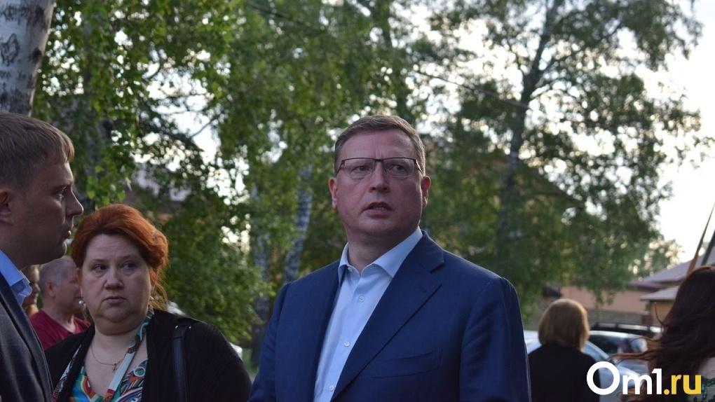 Бурков поручил провести оценку эффективности работы глав районов Омской области