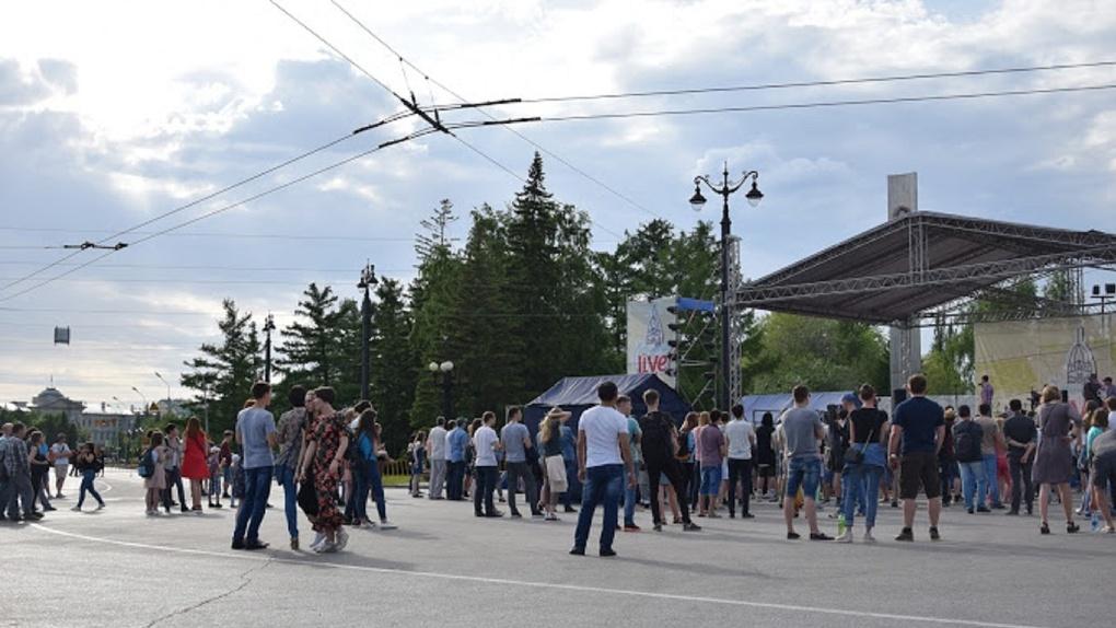 Сегодня в Омске в очередной раз рухнул индекс самоизоляции