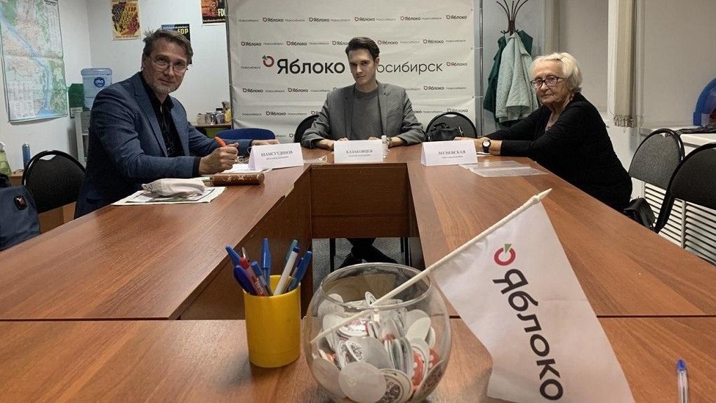 Партия «Яблоко» требует вернуть второй тур выборов мэра Новосибирска