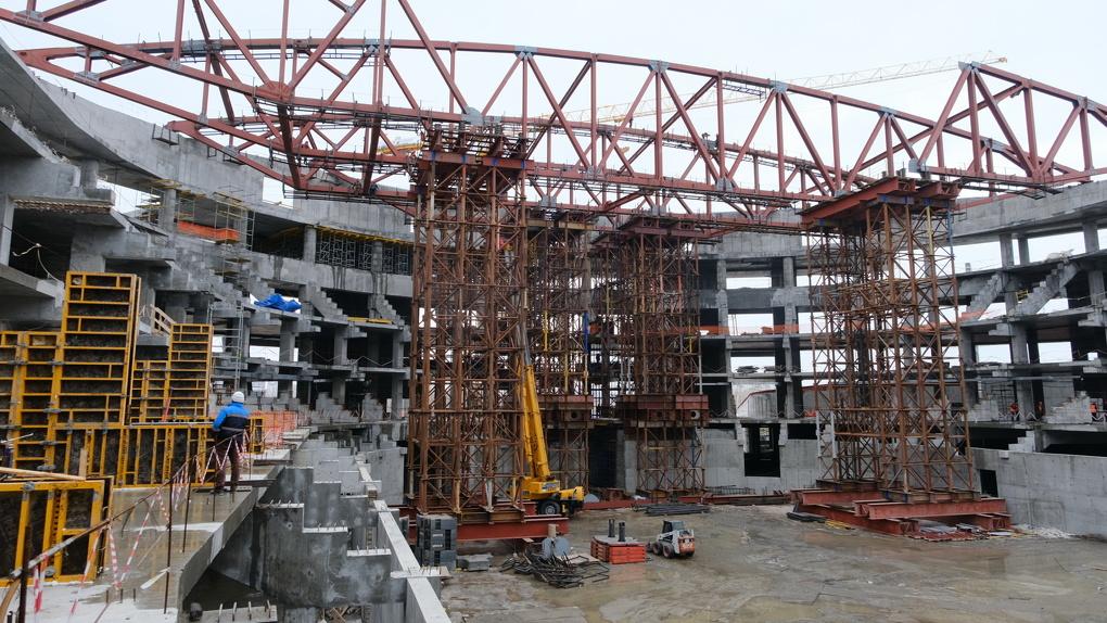 Названы новые сроки ввода ледовой арены в Новосибирске