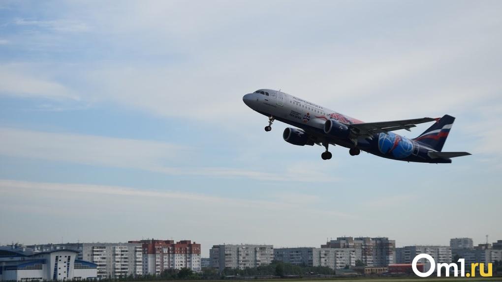 В Омск будет прилетать меньше рейсов из Москвы, но не потому, что там лютует коронавирус