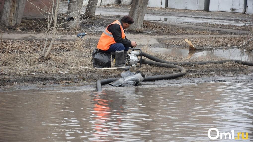 Паводковые воды отрезали от цивилизации село Лисьи Норки в Новосибирской области