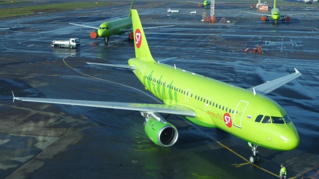 Авиакомпания «Сибирь» отменяет полеты из Санкт-Петербурга в Омск