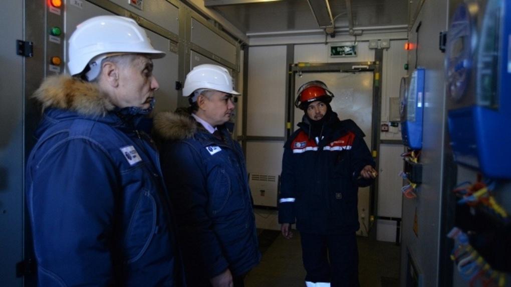 В Омске проверили готовность системы электроснабжения к форуму России и Казахстана
