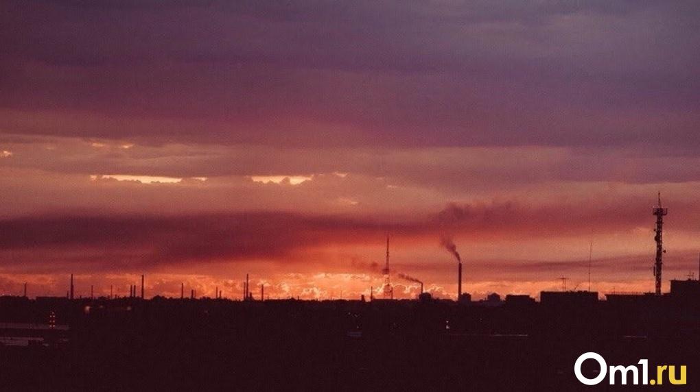 В День знаний в Омске зафиксировали трехкратное превышение допустимых выбросов
