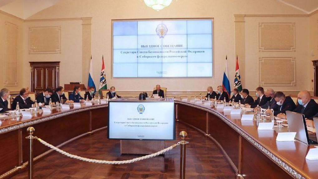 В Новосибирске секретарь Совбеза России отчитал три региона за коррупцию при исполнении нацпроектов