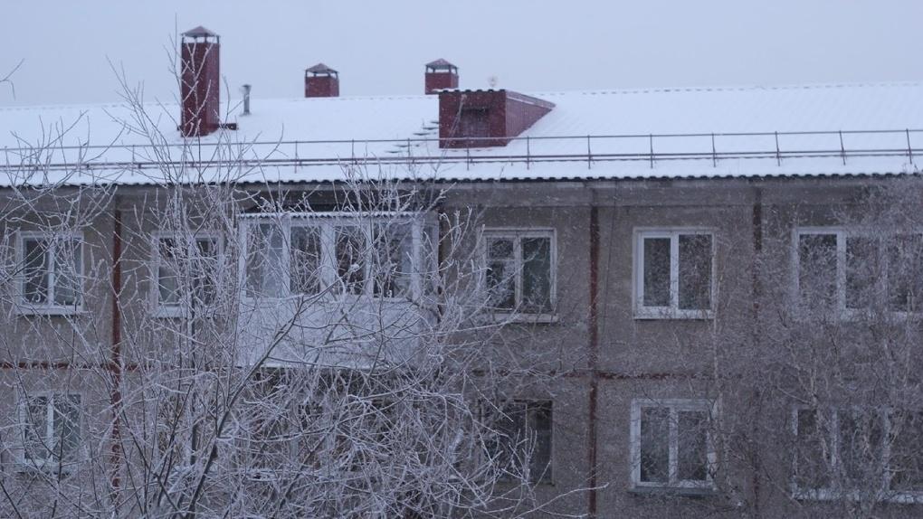 В Омске на продажу выставили пятиэтажку