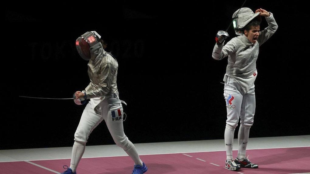 Новосибирская саблистка завоевала вторую золотую медаль на Олимпийских играх в Токио