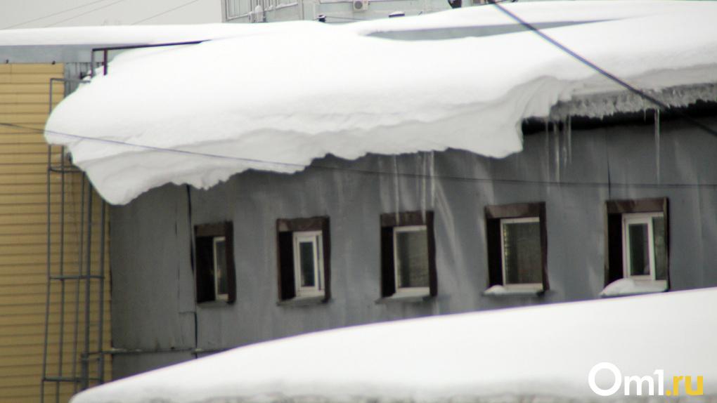 22,5 сантиметра — это предел: новосибирский депутат бьет тревогу из-за риска обрушения крыш от снега