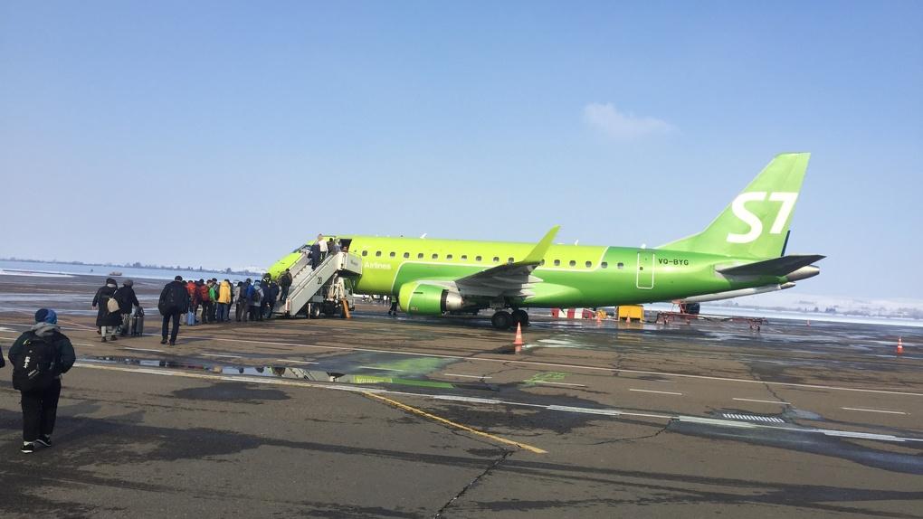 Несколько самолётов задержали в Новосибирске из-за утреннего тумана